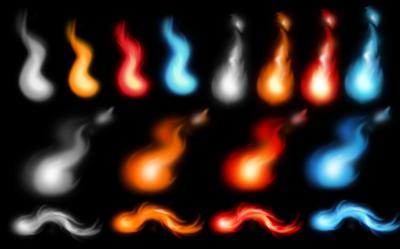 火の玉スタンプ